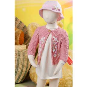 Babies' Embroidered Cardigan (Taiwan)