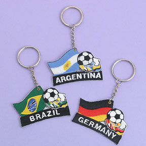 Embroidered Key Ring (Hong Kong)