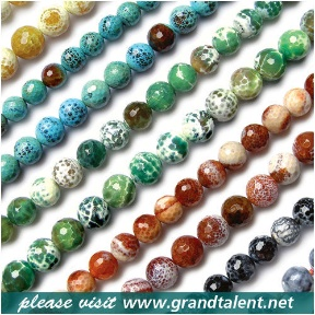 Fire Agate Beads (Hong Kong)