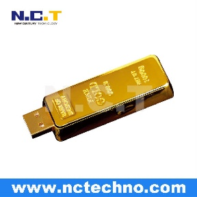 Gold Bar USB Flash Drive (China)