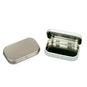 Mints Tin with Hinge Lid (Hong Kong)