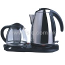 Stainless Steel Electric with Glass Tea Set (Hong Kong)