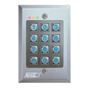 Flush Mount Vandal-Proof Keypad (Hong Kong)