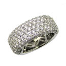 18K White Gold Diamond Ring (Hong Kong)