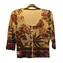 Ladies' Patterned Cardigan (China)