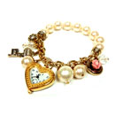 Pearl Bracelet With Watch (Hong Kong)