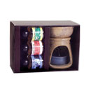 Ceramic Oil Burner Gift Set (India)