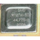 Monolithic Piezoelectric Filter in SMD Case (Russia)