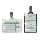 PP name Card holder with clip (Hong Kong)