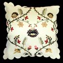 Embroidered Cushion (India)