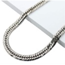 Curb Chain 8 Dimension Cut Tripple Necklace (Japan)