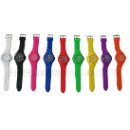 Ladies Silicone Colorful Watch (China)