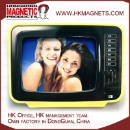 Television TV Shape Magnetic Picture Photo Frame Epoxy (Hong Kong)