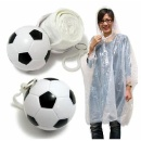 Football Keychain with Emergency Rain Poncho (Hong Kong)
