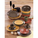 Fiesta Tropical Matt Color Stoneware Set (Hong Kong)