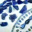 Blue Chalcedony Stones (Hong Kong)