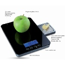 2 In 1 Function Touch Screen Digital Kitchen Scale (China)