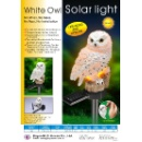 White Owl Solar Light (Taiwan)