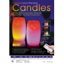 Real Wax Color Changing Candles (Taiwan)