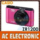 Casio EX-ZR1200 Digital Camera (Pink) (Hong Kong)
