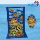 Soft Hand Feeling Microfiber Printed Beach Towel (China)