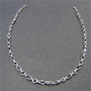 18 K White Gold Chain Necklace (Indonesia)