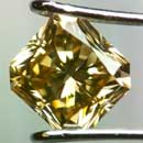 Radiant-Cut Champagne (Brown) Diamond (South Africa)
