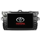 Pure Android Car DVD GPS for Toyota Corolla with Capacitive Screen (China)