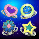 Mood & Glow Kids Ring changes into 12 colors by temperature (Taiwan)