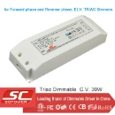 30W 36W 45W Constant Voltage Triac Dimmable LED Driver for Forward Phase (Hong Kong)