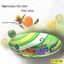 Tempered glass fruit plate (China)