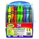 24ct Crayon in Plastic Case (Malaysia)
