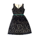 Sleeveless Lace Dress (Taiwan)