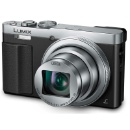Panasonic Lumix DMC-TZ70 PAL Digital Camera Silver (Hong Kong)