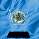 Crystal Quartz Clock (China)
