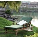 Teak Wood Chaise Lounge (China)