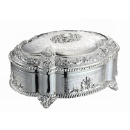 Silver Plated Jewelry Box (Hong Kong)