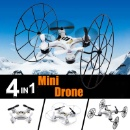 4 IN 1 Mini RC Drone Helicopter (Hong Kong)