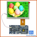 Super High Brightness Outdoor 5.6'' Open Frame TFT LCD Module (China)