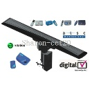 Model no. FD-097 High Quality Long Range 150 miles Amplified TV Remote Controlled Rotating Antenna O (China)