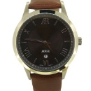 Gent's Stainless Steel Quartz Analogue Watch (Hong Kong)