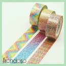 Printed Glitter Tape for scrapbooking (Taiwan)