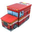 Fire Truck Toys Storage Stool (Hong Kong)