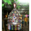Tiffany Crystal Pendant Lamp Morocco Style (China)