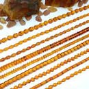 Yellow Amber Beads (Hong Kong)