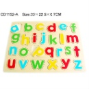 Wooden Kids Puzzle Alphabet Educational Toys (Taiwan)
