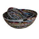 Recycled Paper Bowl For Interior Decoration (Vietnam)