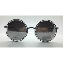 Metal Fashion Round Shape Sunglasses with Mirror Lens GV8202 (China)