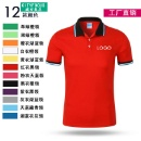 OEM Cotton Color Lapel T-Shirt (Hong Kong)