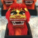 Northern Lion dance ornament with magnet (Hong Kong)